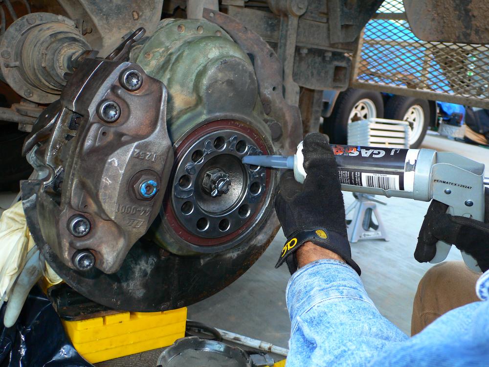 Brake Repair And Tire Exchange 20081110